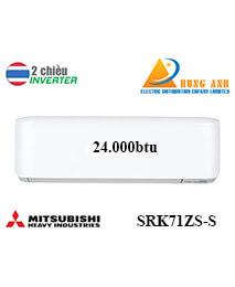 Điều Hoà Mitsubishi Heavy SRK71ZS-S 2 Chiều Inverter Siêu Sang Trọng