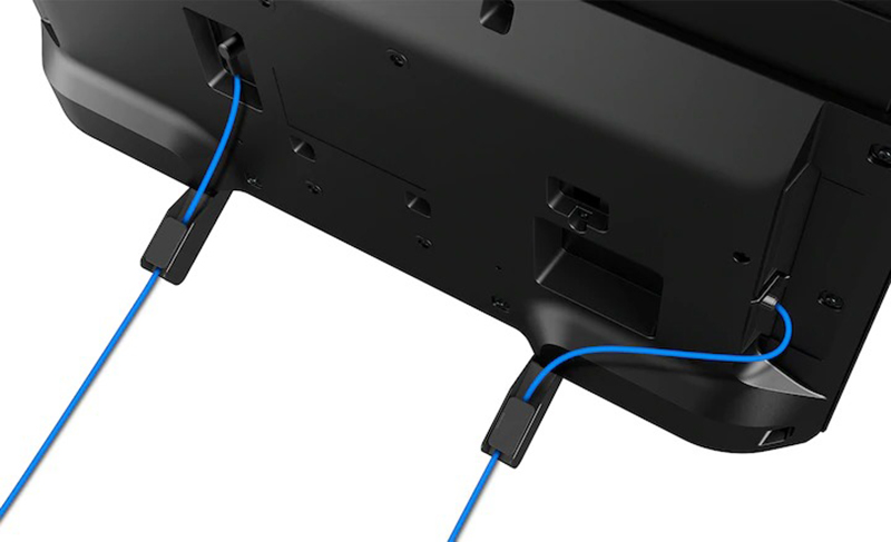 Android Tivi Sony 49 inch KDL-49W800G Cáp được giấu tinh tế, gọn gàng và ngăn nắp