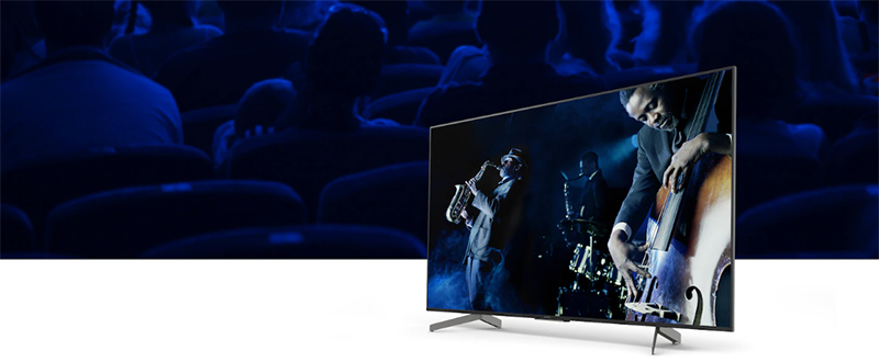 Android Tivi Sony 4K 49 inch KD-49X8500G Sound-from-Picture Reality™