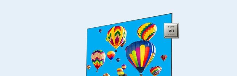 Android Tivi Sony 4K 49 inch KD-49X7500H UHD với màu sắc, độ tương phản đẹp