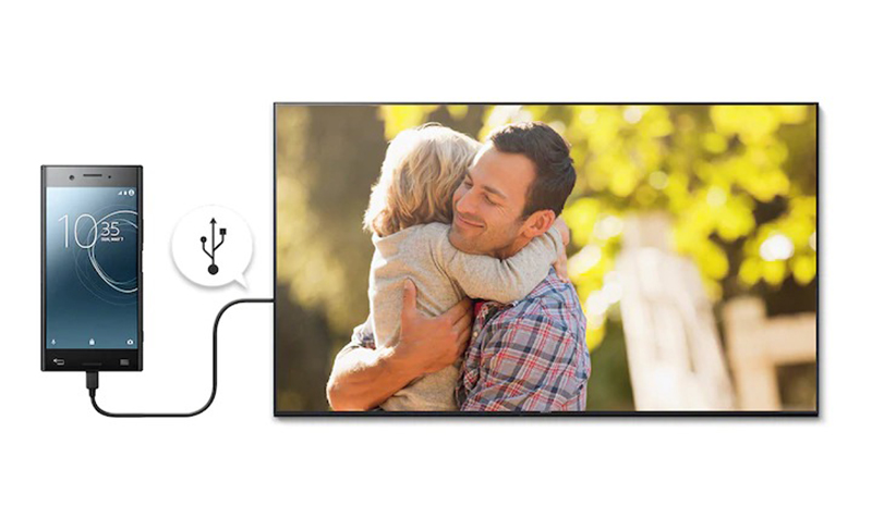 Smart Tivi Sony 43 inch KDL-43W660G Sử dụng điện thoại thông minh sành điệu hơn