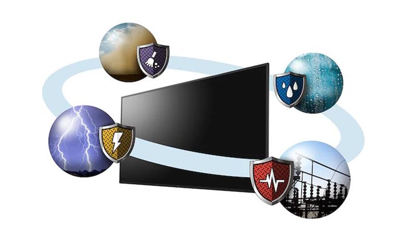 Smart Tivi Sony 43 inch KDL-43W660G Thiết kế vượt qua mọi điều kiện khắc nghiệt nhất