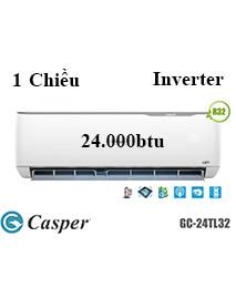 Điều Hoà Casper GC-24TL32 1 Chiều 24.000btu Inverter