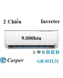 Điều Hoà Casper GH-09TL32 2 Chiều 9.000btu Inverter