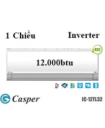 Điều Hoà Casper IC-12TL32 1 Chiều 12.000btu Inverter