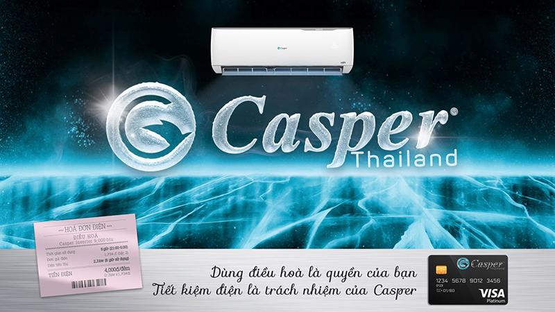 Điều Hoà Casper Inverter 1 chiều 9000 BTU IC-09TL32 Tiết kiệm điện đến từng đồng