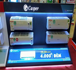 Dùng điều hòa Casper chỉ với 4000 đồng 1 đêm
