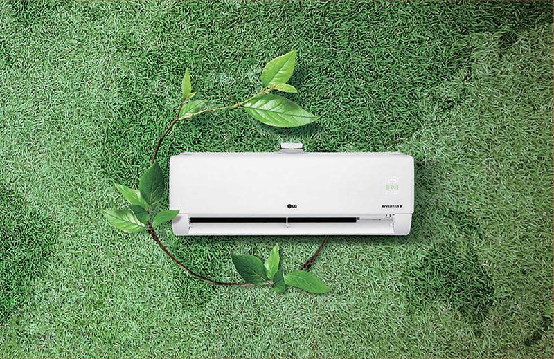 Điều Hoà LG Inverter 2 chiều 12000 BTU B13APF Máy nén Dual Inverter làm lạnh nhanh, tiết kiệm điện