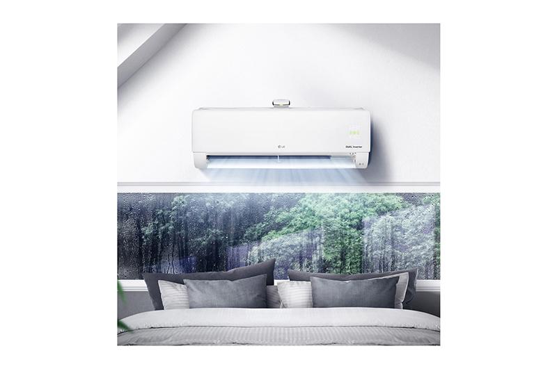 Điều Hoà LG Inverter 2 chiều 12000 BTU B13APF Chế độ làm lạnh nhanh