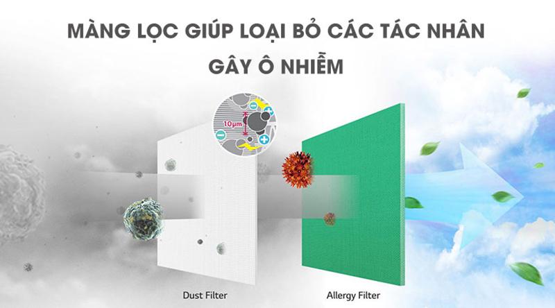 Điều Hoà LG Inverter 2 chiều 12000 BTU B13APF Bộ tạo ion lọc sạch không khí
