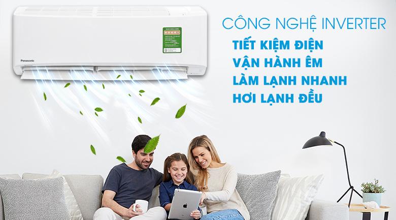 Công nghệ inverter tiết kiệm điện tối ưu