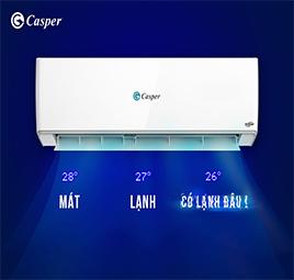 Giải thích lý do vì sao điều hòa Casper lại làm lạnh nhanh?