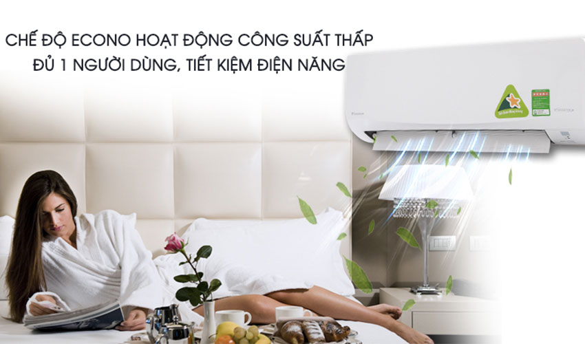 Chế độ Econo tiết kiệm điện năng