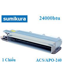 Điều hòa âm trần nối ống gió Sumikura ACS/APO-240 1 Chiều 24000btu