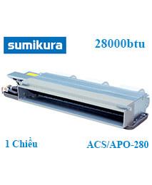 Điều hòa âm trần nối ống gió Sumikura ACS/APO-280 1 Chiều 28000btu
