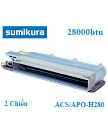Điều hòa âm trần nối ống gió Sumikura ACS/APO-H280 2 Chiều 28000btu