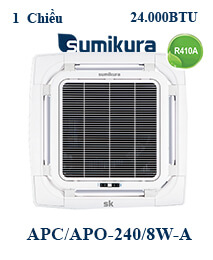 Điều hòa tủ đứng Sumikura APC/APO-240/8W-A 2 Chiều 24000btu