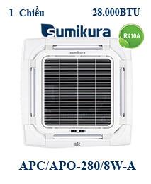 Điều hòa tủ đứng Sumikura APC/APO-280/8W-A 2 Chiều 28000btu