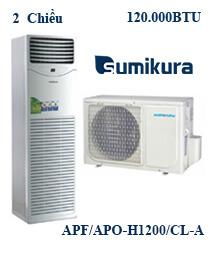 Điều hòa tủ đứng Sumikura APF/APO-H1200/CL-A 2 Chiều 1200000btu
