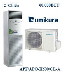 Điều hòa tủ đứng Sumikura APF/APO-H600/CL-A 2 Chiều 600000btu