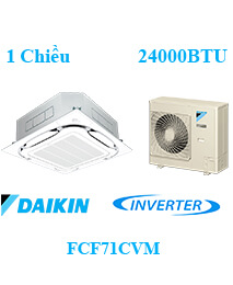 Điều Hòa Âm Trần Daikin FCF71CVM 1 Chiều Inverter 24000btu