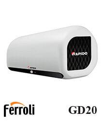 Bình nóng lạnh Ferroli Rapido GD20 20 lít