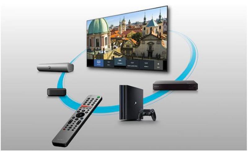 Android Tivi Sony 4K 43 inch KD-43X8500H UHD điều khiển tivi từ xa dễ dàng