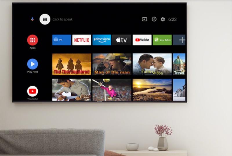 Android Tivi Sony 4K 55 inch KD-55A8H Giải trí thông minh hơn