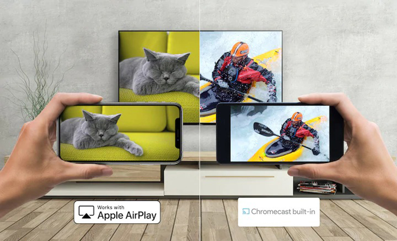 Android Tivi Sony 4K 55 inch KD-55X9500H Đưa nội dung bạn thích lên màn hình lớn
