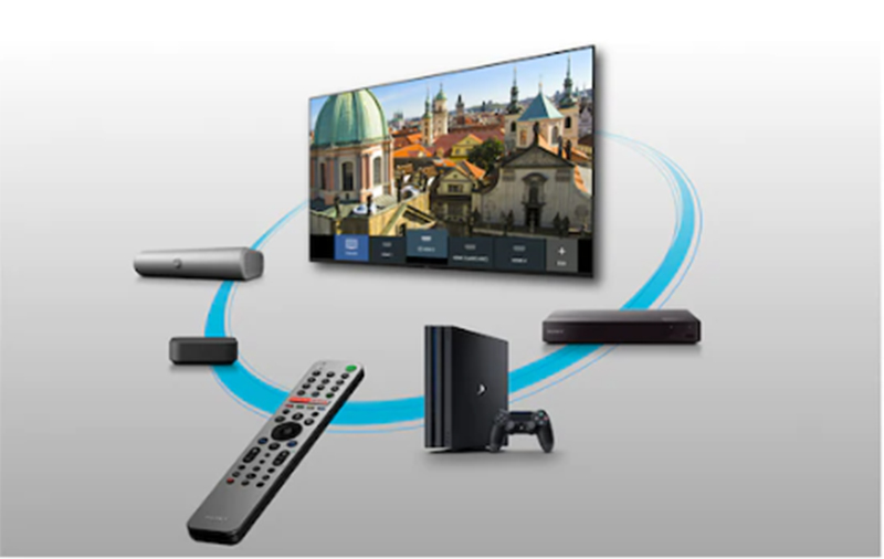 Điều khiển dễ dàng bằng điều khiển từ xa thông minh Android Tivi Sony 4K 65 inch KD-65X9500H