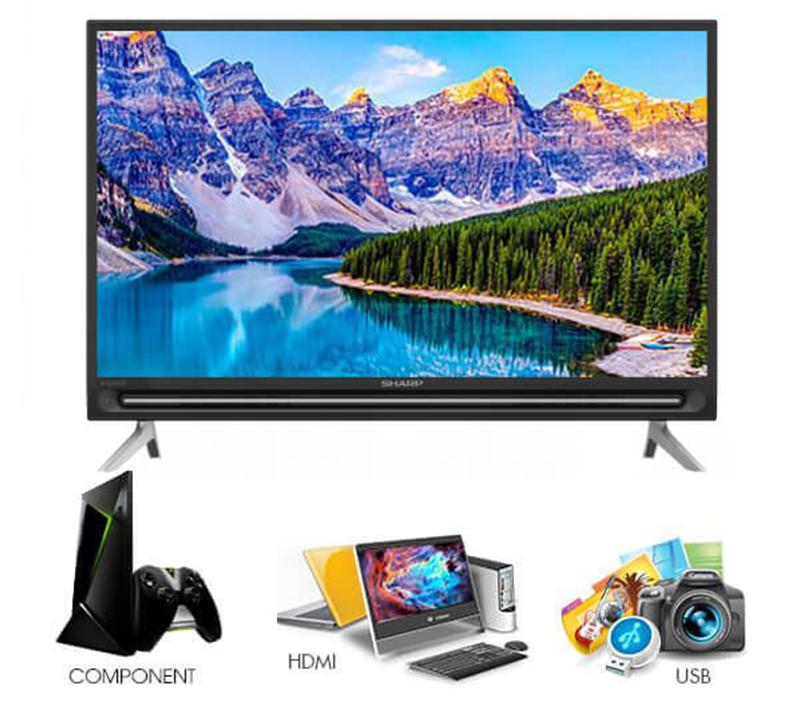 Smart Tivi Sharp 32 inch LC-32SA4500X HD CÁC ỨNG DỤNG GIẢI TRÍ VÀ TIỆN ÍCH