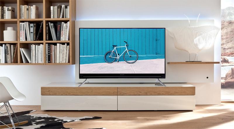 Smart Tivi Sharp 40 Inch LC40SA5500X Full HD Thiết kế tinh tế, sang trọng