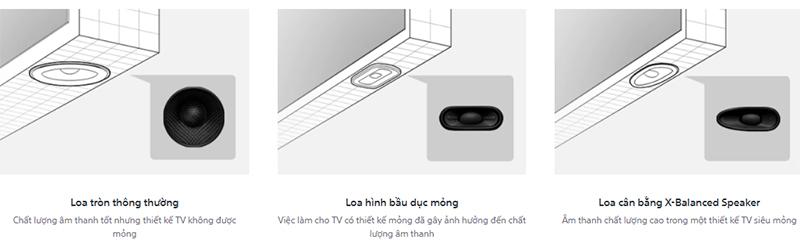 Android Tivi Sony 4K 55 inch KD-55X9000H Thưởng thức âm thanh chất lượng cao