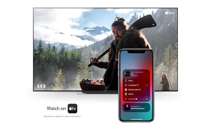 Android Tivi Sony 4K 55 inch KD-55X8050H Tương thích với Apple AirPlay / Apple HomeKit