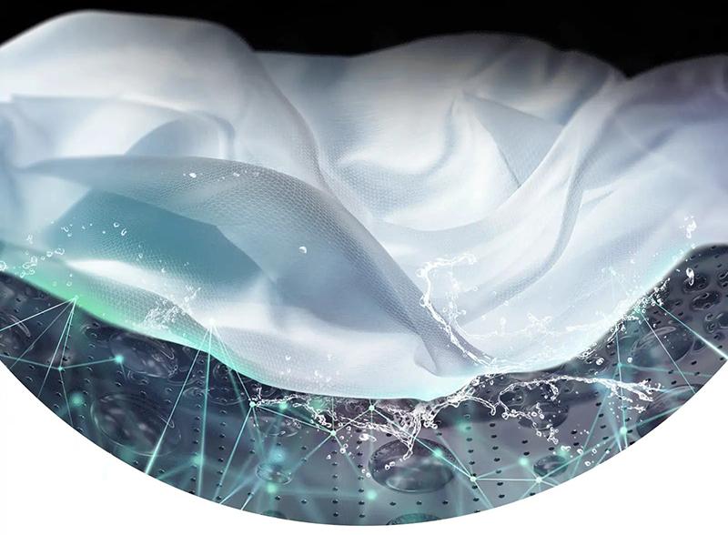 máy giặt LG FV1409S3W chăm sóc thông minh giúp bảo vệ sợi vải
