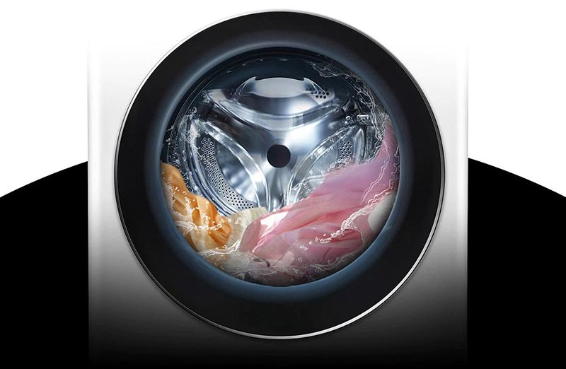 máy giặt LG FV1409S3W với công nghệ turboWash