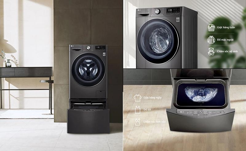 Bổ sung máy giặt TWINWash™ Mini theo sở thích để phù hợp với nhu cầu thiết kế nội thất