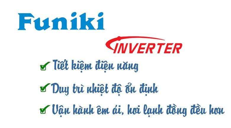 Điều hòa Funiki Inverter 1 chiều 12000 BTU HIC12MMC tiết kiệm điện tới 50%
