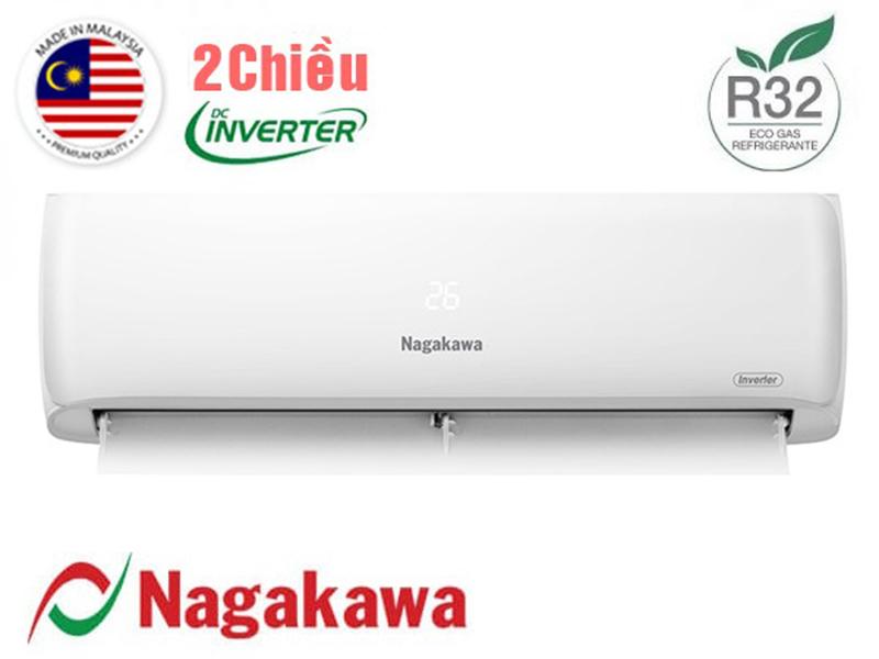 Điều hòa Nagakawa NIS-A09R2H08 được thiết kế trang nhã, khỏe khoắn